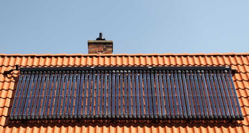 Solarheizung: warmes Wasser & solar beheizte Räume