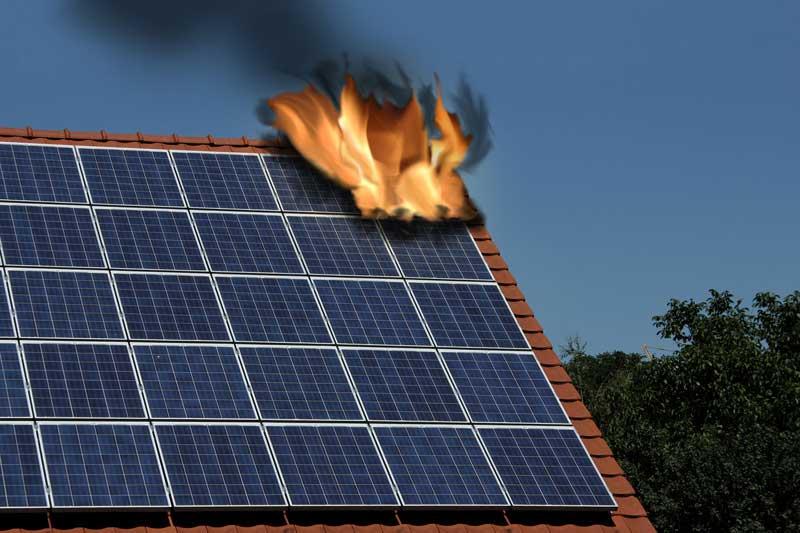 Photovoltaikversicherung-feuer